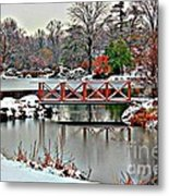 A Light Dusting Of Snow Metal Print