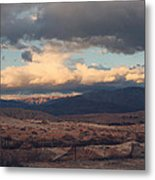 A Light In The Distance Metal Print