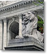 A Lion Called Fortitude Metal Print