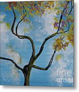 A Little All Over The Place Metal Print