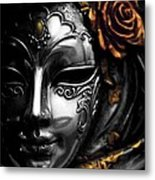 A Touch Of Color Metal Print