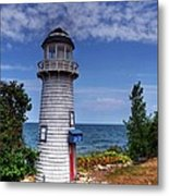 A Little Lighthouse Metal Print