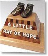 A Little Ray Of Hope  #115 Metal Print