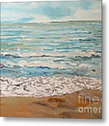 A Little Slice Of Paradise Metal Print