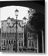 A Local View Of Venice Metal Print