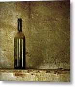 A Lonely Bottle Metal Print