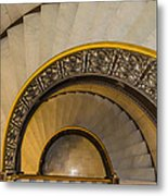 A Look Down The Stairs Metal Print