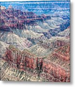 A Look Into The Grand Canyon  Metal Print