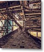 A Look Into The Past. Metal Print