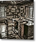 A Look To The Past Metal Print by Susan Candelario