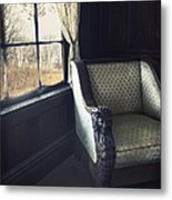 A Lovely View From The Window Metal Print