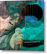 A Man And His Music - James Brown Featured In 'abc Group' And Comfortable Art Group Metal Print