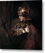 A Man In Armour, 1655 Metal Print