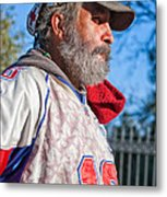 A Man With A Purpose Metal Print
