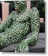 A Maze Ing Man 5 Metal Print
