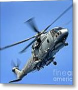 A Merlin Helicopter Metal Print