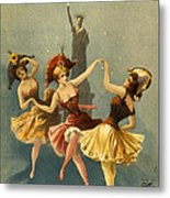 A Midnight Frolic Metal Print by Aged Pixel