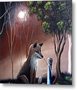 A Midnight Moment By Shawna Erback Metal Print