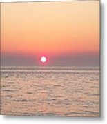 A Minute To Sunset Metal Print