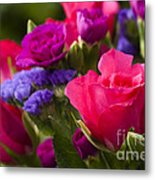 A Mixed Bouquet Metal Print