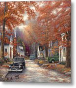 A Moment On Memory Lane Metal Print