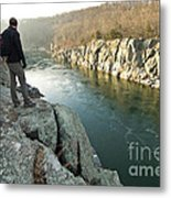 A Morning At Mathers Gorge Metal Print