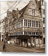 A Morning In Ghent Metal Print