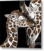 A Mother's Love - At Great Heights By Lcs Metal Print
