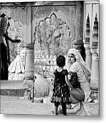 A Mother's Moment Metal Print