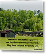 A Mother's Prayer Metal Print
