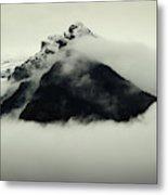 A Mountain Scene Metal Print