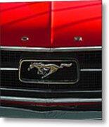 A Mustang  Metal Print