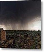 A Navajo 'male' Rain Metal Print