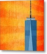 A New Day - World Trade Center One Metal Print