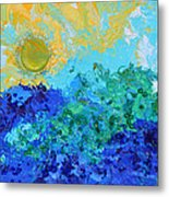 A New Day Full Of Promises Metal Print