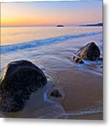 A New Day Singing Beach Metal Print