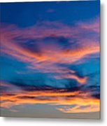 A New Day Starts Metal Print