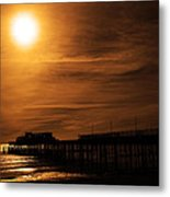 A New Life With Each Wave Metal Print