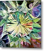 A New Sun Flower Metal Print by Mindy Newman