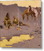 A New Year On The Cimarron  Metal Print