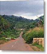 A Nice Nigerian Road Metal Print