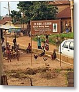 A Nigerian Doctor's Office Metal Print