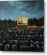 A Night At The Drive In Metal Print
