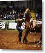 A Night At The Rodeo V13 Metal Print