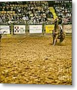 A Night At The Rodeo V15 Metal Print