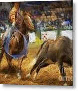 A Night At The Rodeo V18 Metal Print