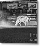 A Night At The Rodeo V2 Metal Print