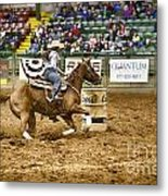 A Night At The Rodeo V20 Metal Print