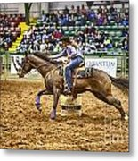 A Night At The Rodeo V28 Metal Print