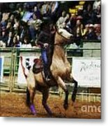 A Night At The Rodeo V29 Metal Print